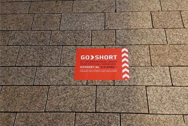 GoShort campaña de etiqueta de la calle
