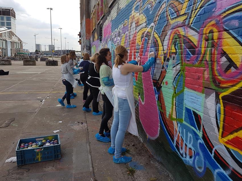 Graffitiworkshop Amsterdam