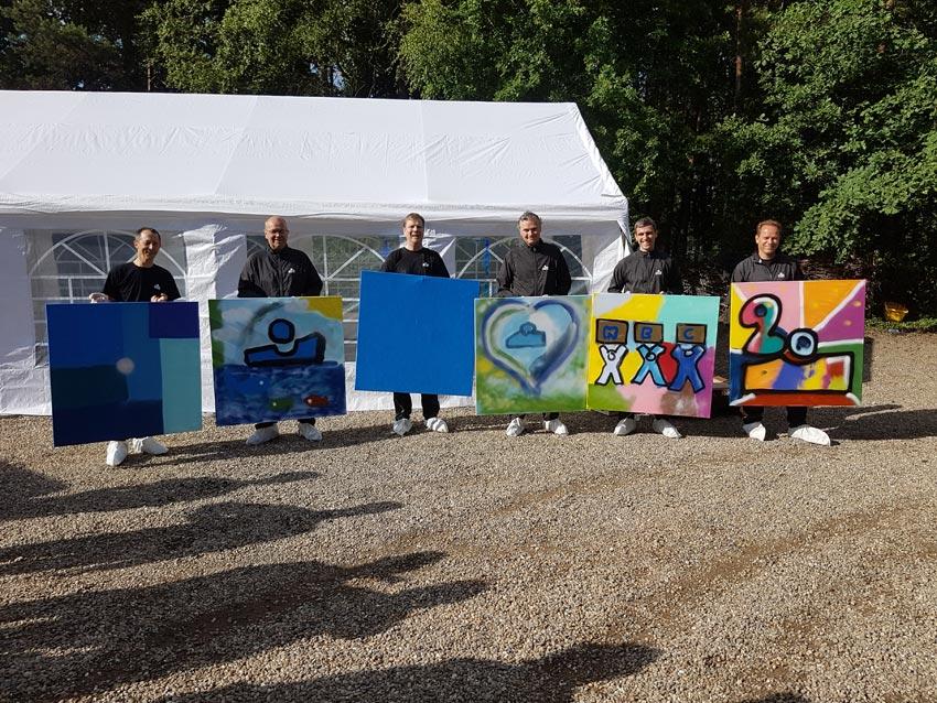 KBC workshop graffiti spuiten