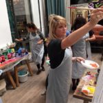 Paint workshops as an outing Rotterdam