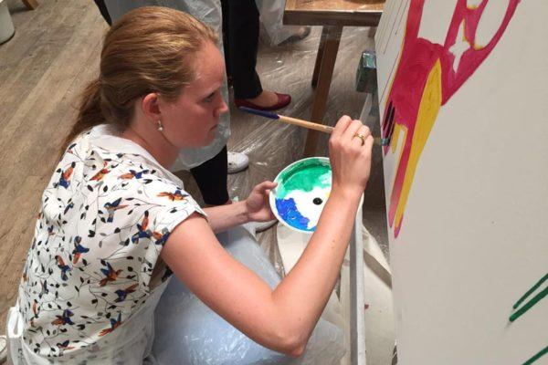 Atelier de peinture Unilever