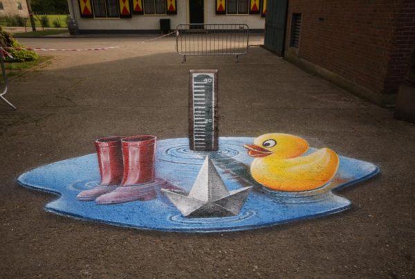 Streetpainting Rijnland