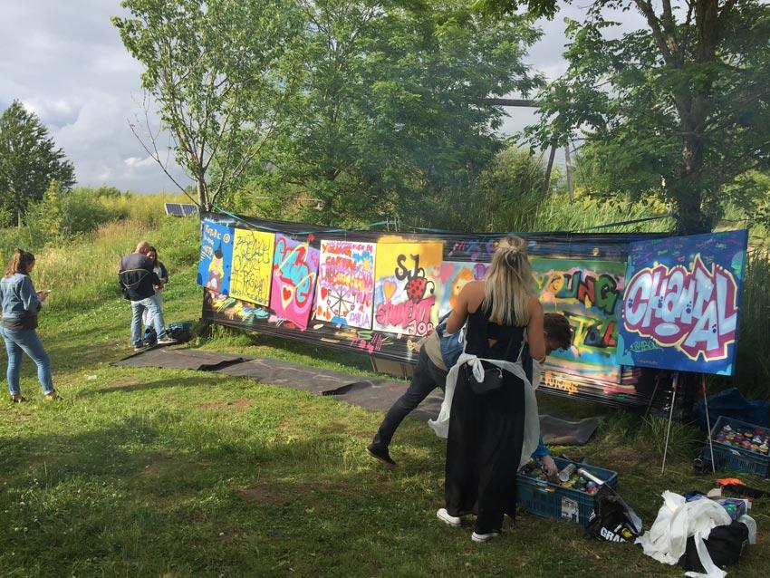 Street-art workshop YoungCapital