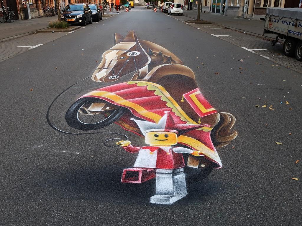 Streetpainting Dendermonde