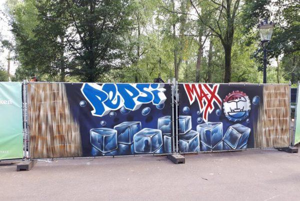 Pittura Pepsi Max