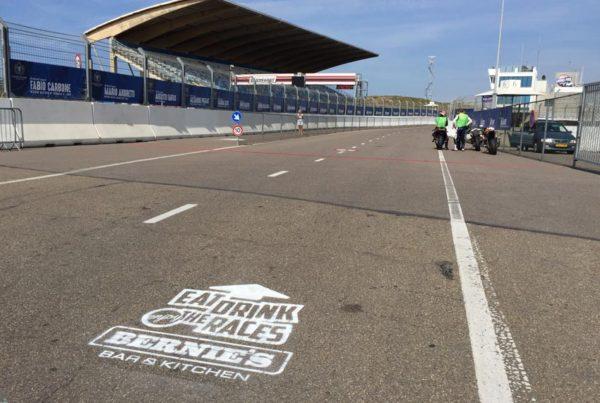 Chalk route Circuit Zandvoort