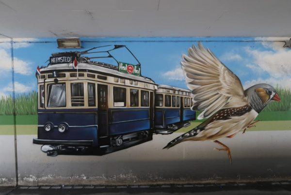 Wall painting De Vink