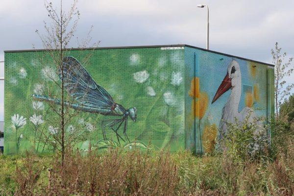 Peinture anti-graffiti Municipalité de Rijswijk