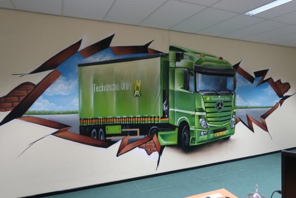 Pintura de parede Technische Unie