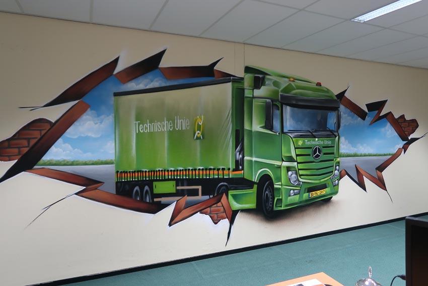 Pittura murale Technische Unie