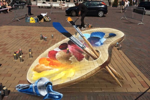 Фестиваль уличного искусства Zandvoort