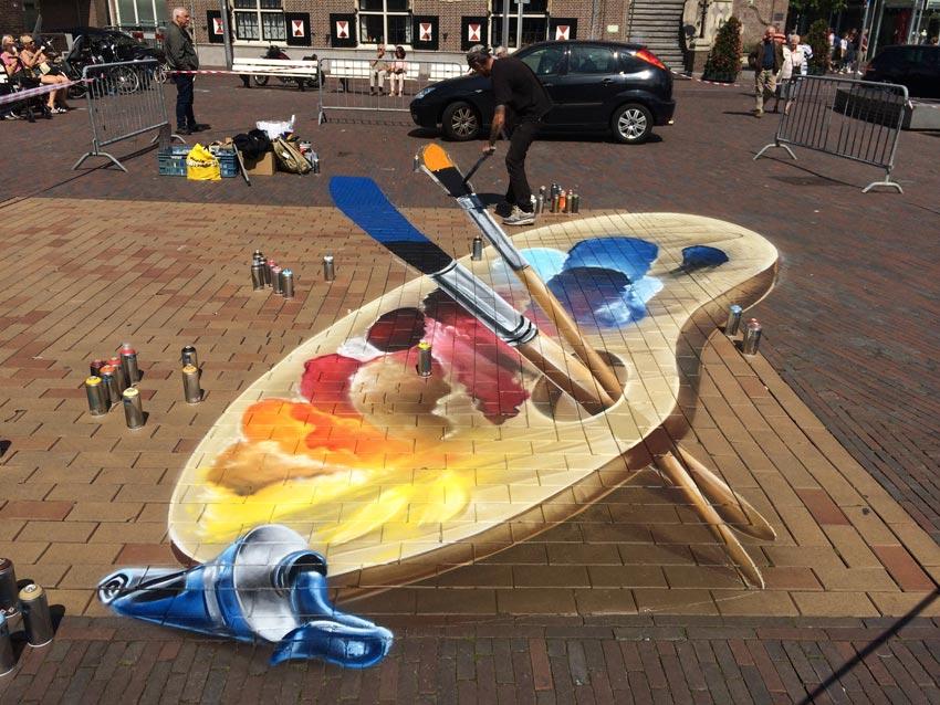 Street-art festival Zandvoort