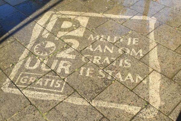 Street advertising Rijswijk