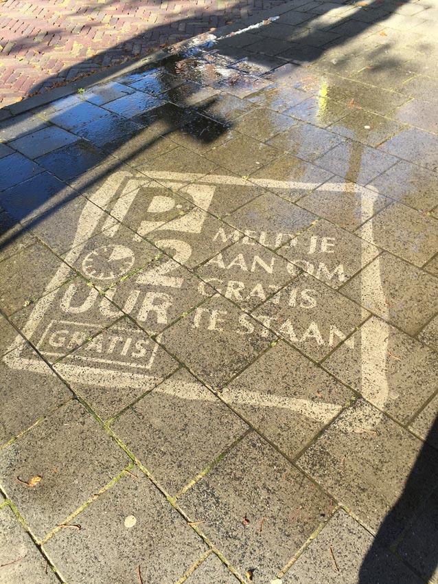 Straatreclame Rijswijk