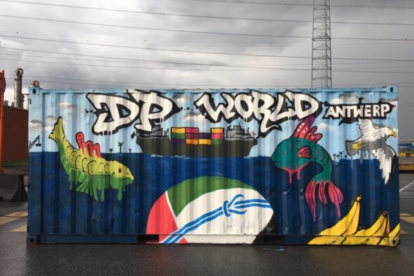 Graffiti workshop DP World