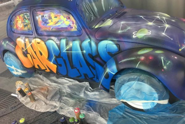 Street-art workshop Carglass