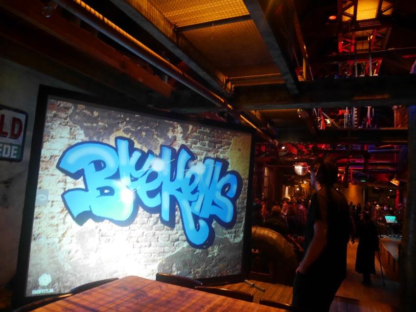 Graffiti-wall Bluekens