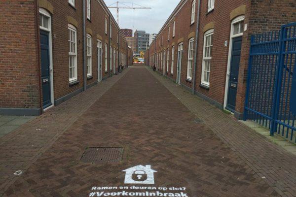 Krijt-uitingen Gemeente Den Haag