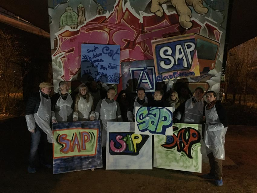 Workshop graffiti Amista