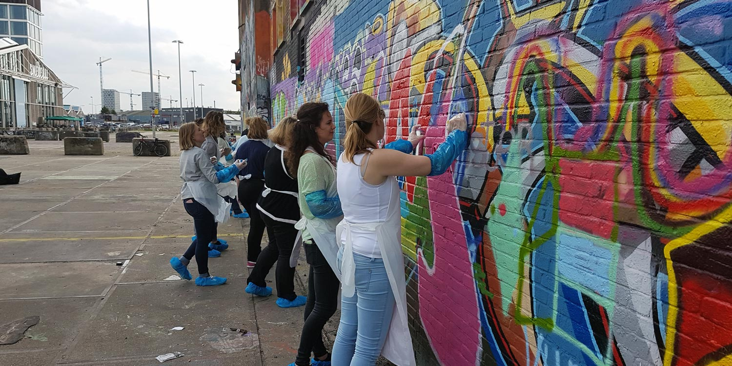Graffiti workshop in Amsterdam