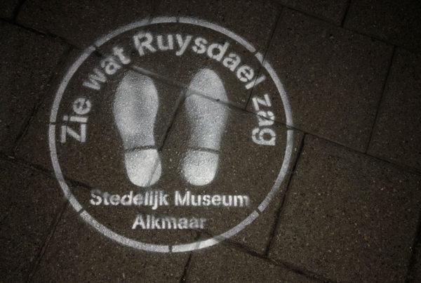 Chalk expressions Museum Alkmaar