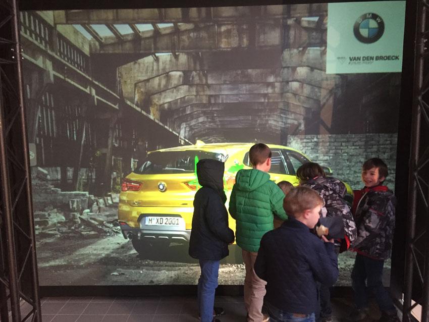 Digiffiti BMW Brussels