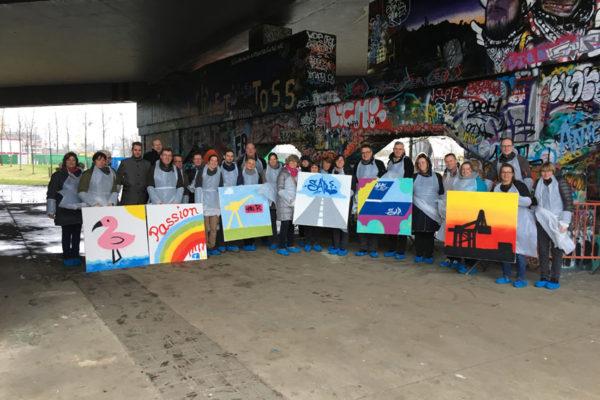Graffiti workshop Rhenus