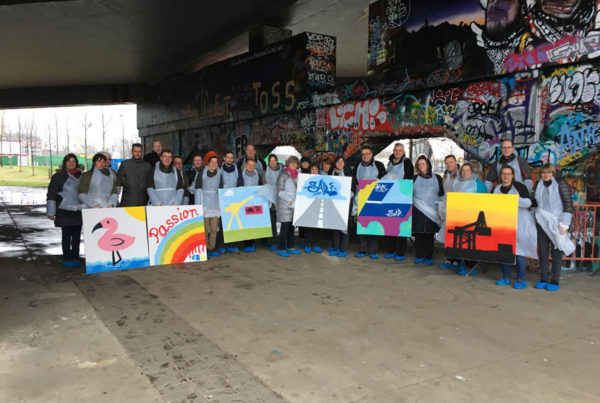 Graffiti workshop Rhenus
