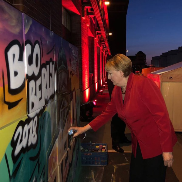 Peinture en direct BCO Berlin