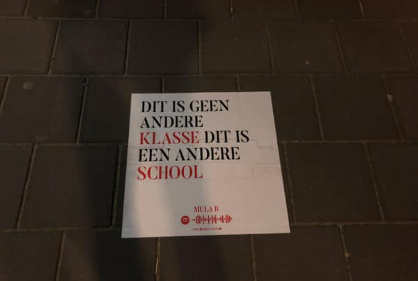 ملصقات الشوارع