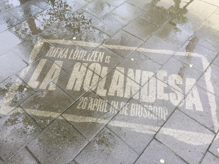 Guerrilla marketing La Holandesa