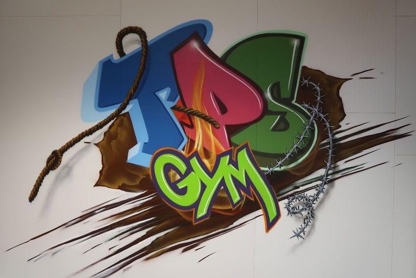 Wandschildering TPS