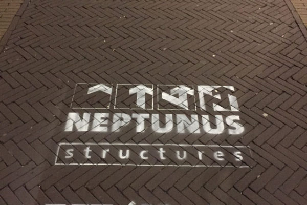 Chalk advertising Neptune