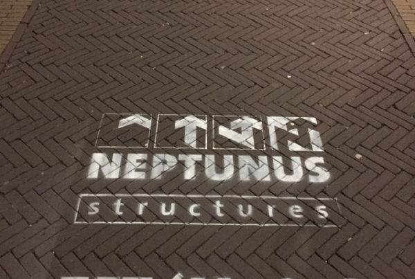 Krijt reclame Neptunus