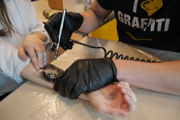 Airbrush tattoos Utrecht