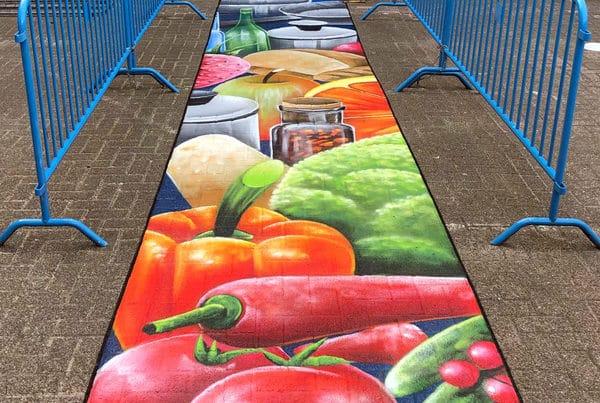 Foodyard Streetpainting