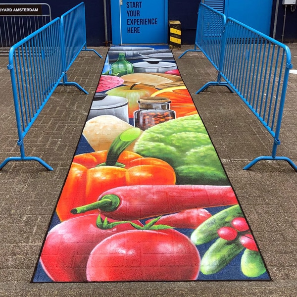 Foodyard Streetpainting