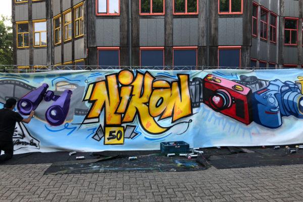 Workshop graffiti Nikon