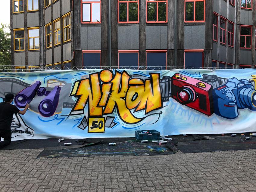 Workshop-graffiti Nikon