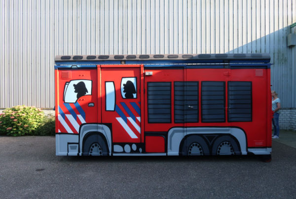 Fire brigade painting