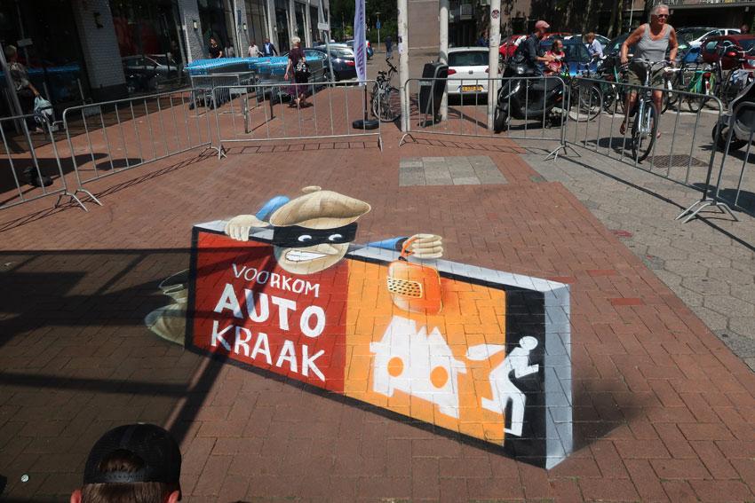 3d streetpainting Utrecht