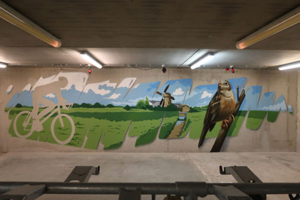 Wall painting DRBG