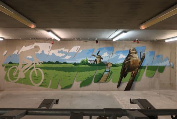 Pintura de parede DRBG