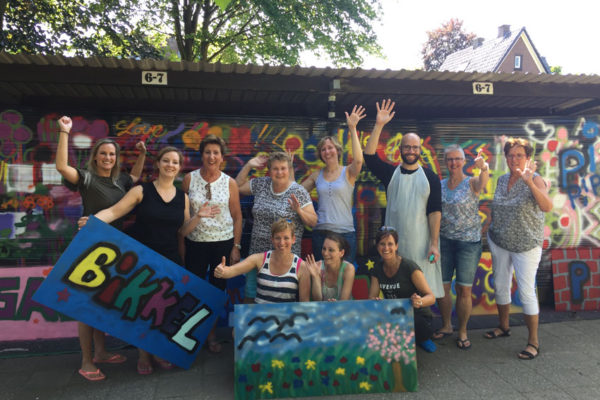 Hengelo graffiti workshop