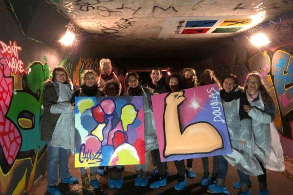 Graffiti workshop Alphen aan den Rijn