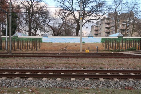 Anti-graffiti painting Prorail