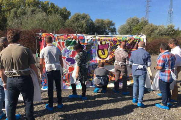 Workshop graffiti Eandis