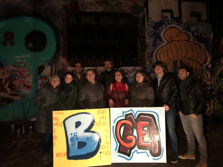 Graffitiworkshop Booking