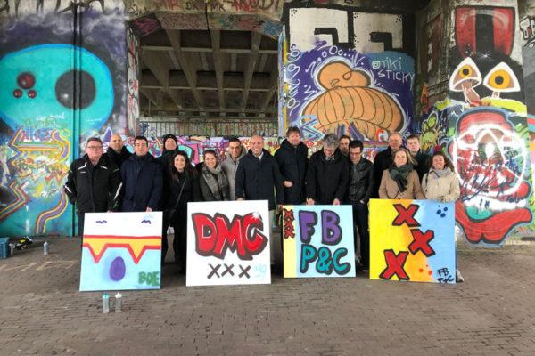 Graffiti-Kurs Gemeinde Amsterdam