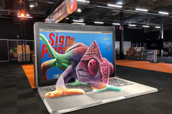 3d painting Sign & Print Expo